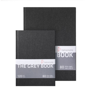 Carnet de dessin The Grey Book 120 g/m²