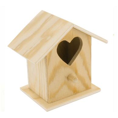 nichoir en bois d coupe c ur 8 x 8 x 5 5 cm ctop chez rougier pl. Black Bedroom Furniture Sets. Home Design Ideas