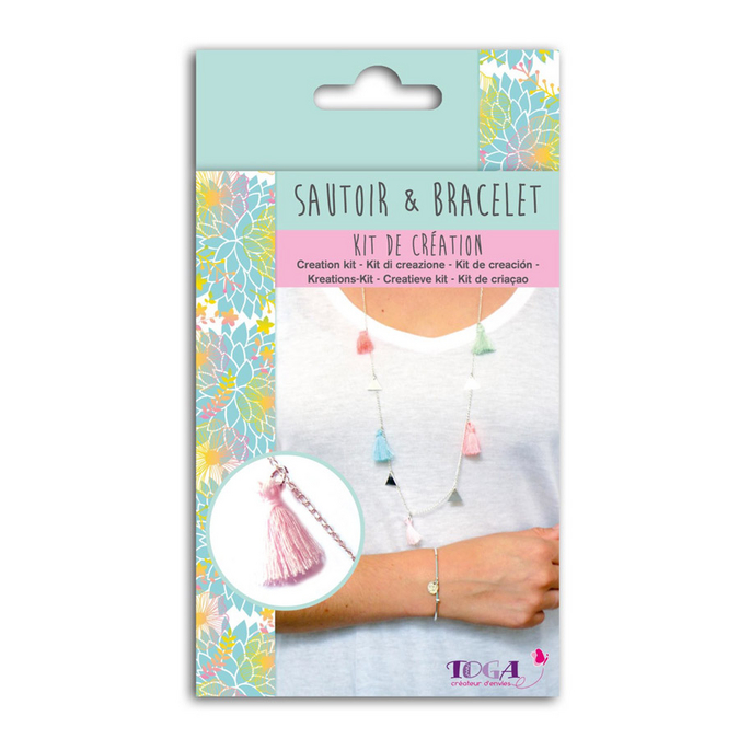 Bijoux en kit Sautoir & Bracelet Caraïbes