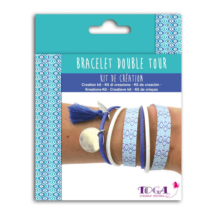 Bijoux en kit Bracelet double tour Cyclades