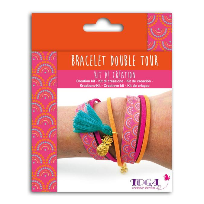 Bijoux en kit Bracelet double tour Bollywood
