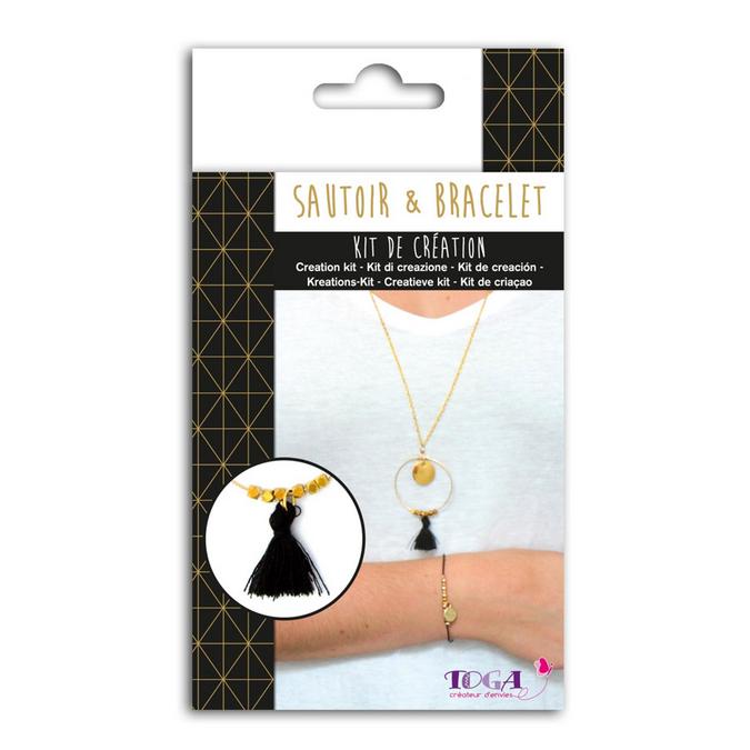 Bijoux en kit Sautoir & Bracelet Or