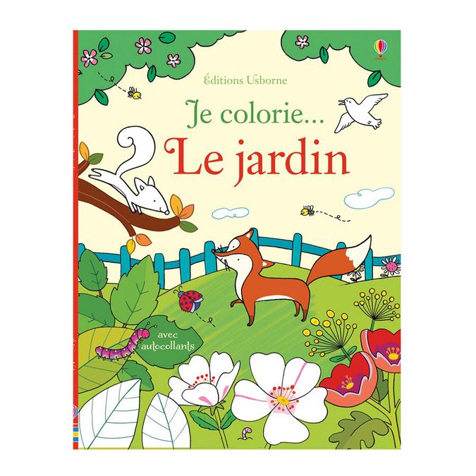 Livre Je colorie… Le jardin