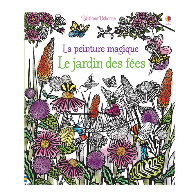 Livre Le jardin des fées La peinture magique