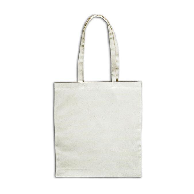 Tote bag - Sac en coton ivoire avec anses courtes