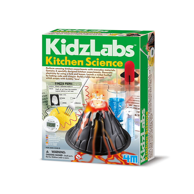 Coffret scientifique Kidzlabs Sciences en cuisine