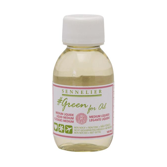 Médium liquide Green for oil 100 ml