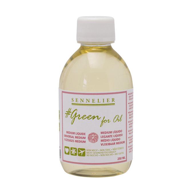 Médium liquide Green for oil 250 ml