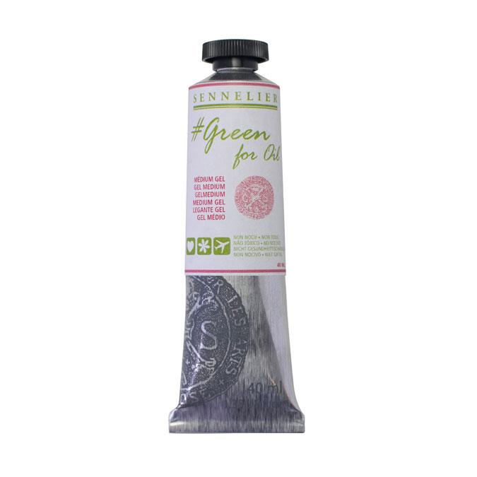 Médium gel Green for oil 40 ml