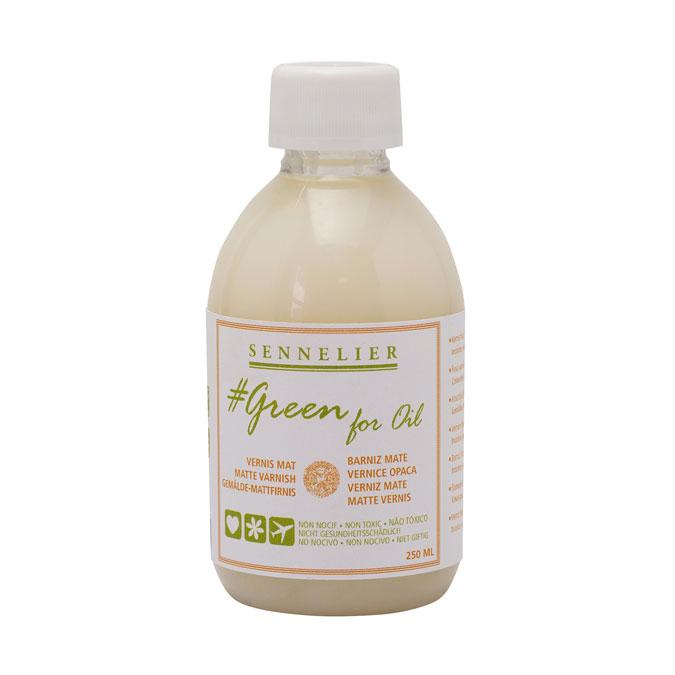 Vernis Mat Green for oil 250 ml