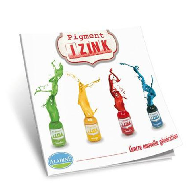 Livre Pigment Izink L'encre nouvelle génération