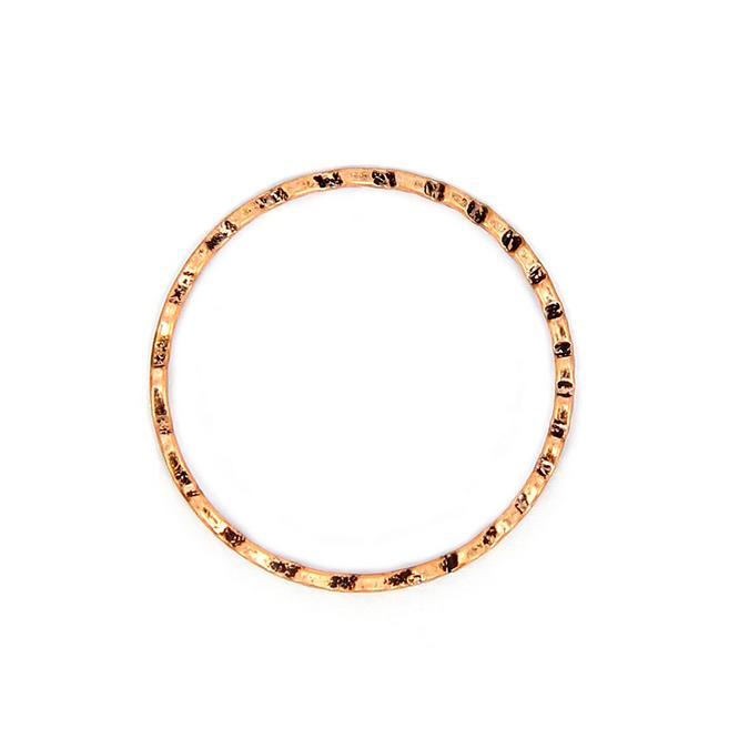 Anneau à vagues cuivre - 38,5 mm