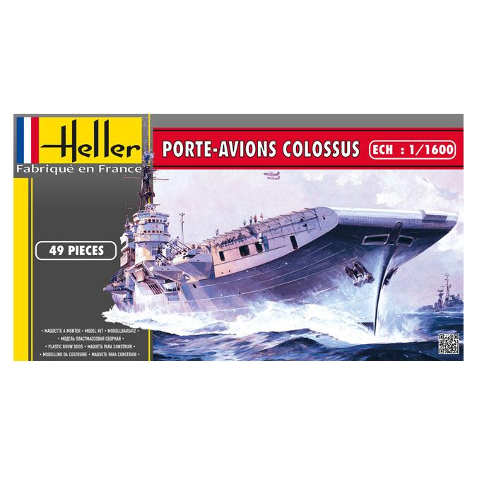 Maquette Navire Porte-avions Colossus