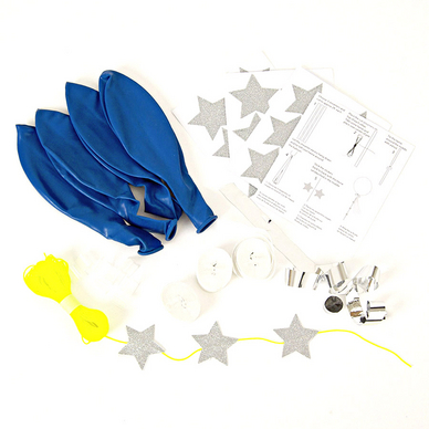 Kit ballon bleu x 8 pcs