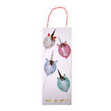 Kit ballon licorne personnalisable x 8 pcs