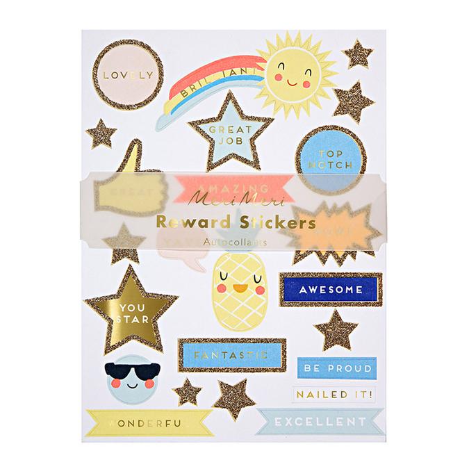 Stickers reward x 24 pcs