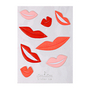 Stickers relief love x 8 pcs