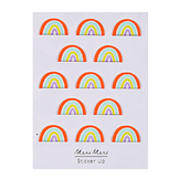 Stickers relief arc-en-ciel x 13 pcs