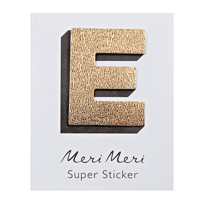 Sticker lettre E