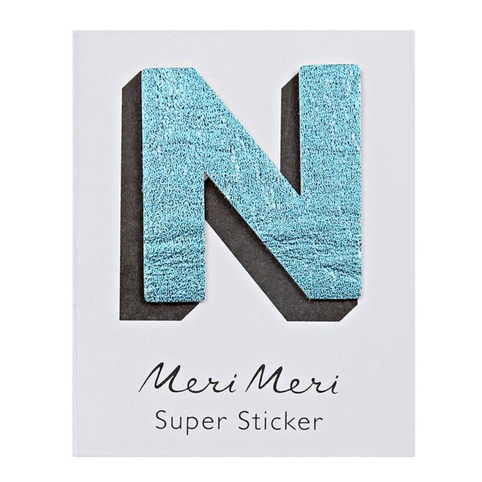 Sticker lettre N