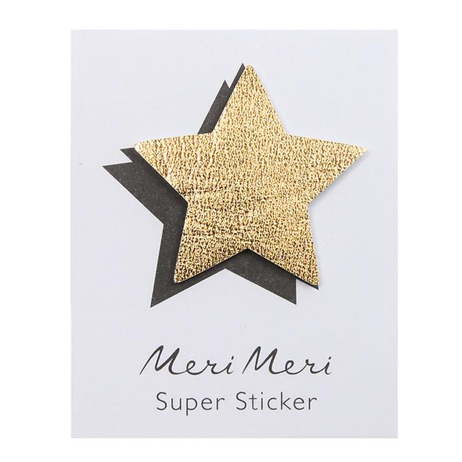 Sticker lettre Etoile
