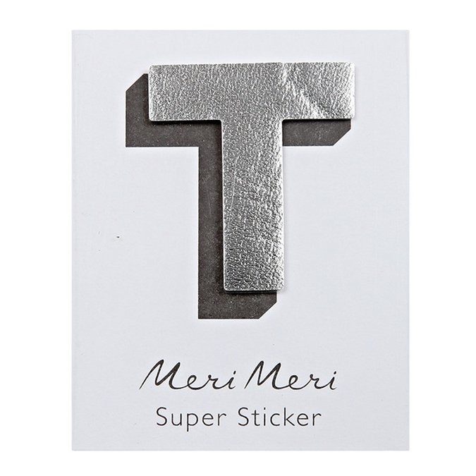 Sticker lettre T