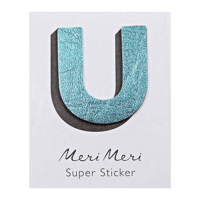 Sticker lettre U