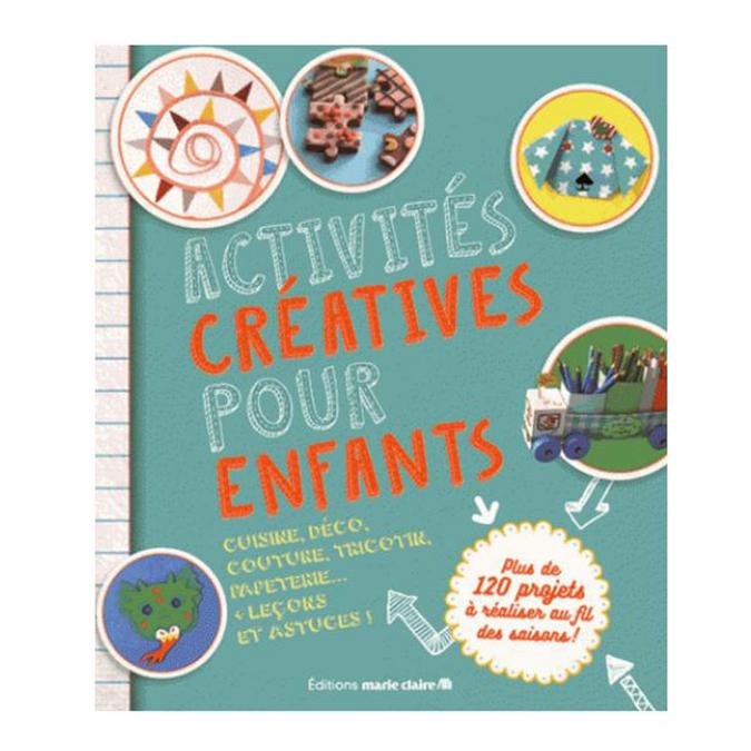 Livre Activités créatives pour enfants