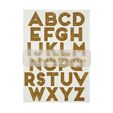 Alphabet stickers or x 10 pcs