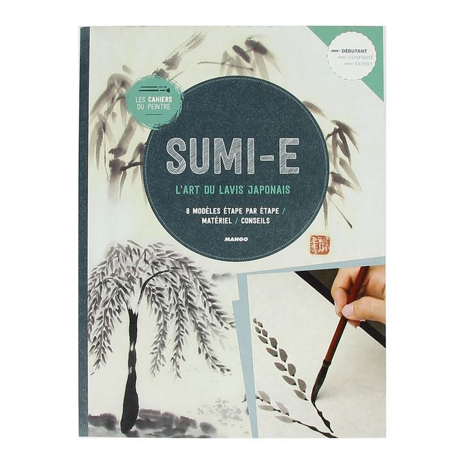 Livre Sumi-E L'art du lavis Japonais