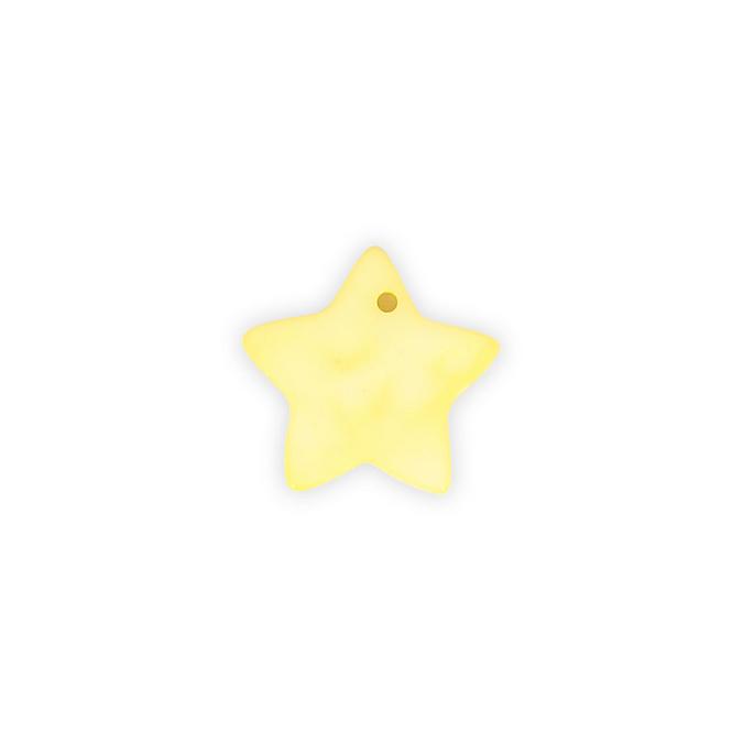 Sequin en nacre étoile - 17 mm