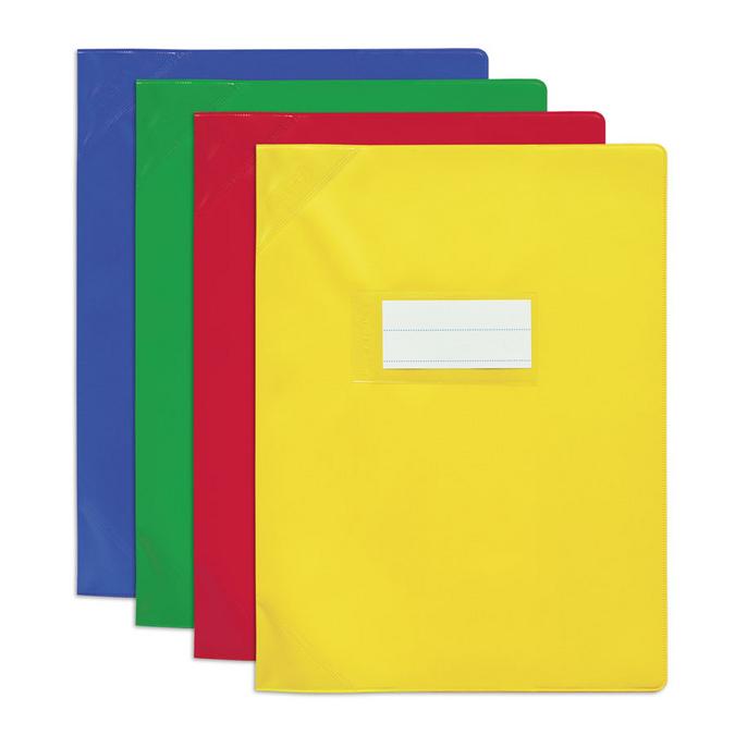 Protège-cahier 17 x 22 cm PVC