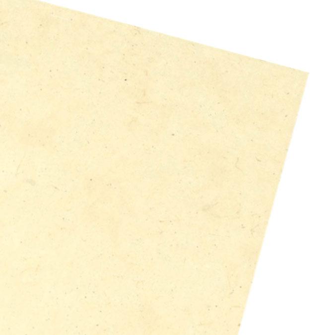 Papier Lokta Classique Épais 50 x 75 cm Blanc cassé