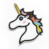 Ecusson thermocollant Licorne