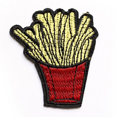 Ecusson thermocollant Frites