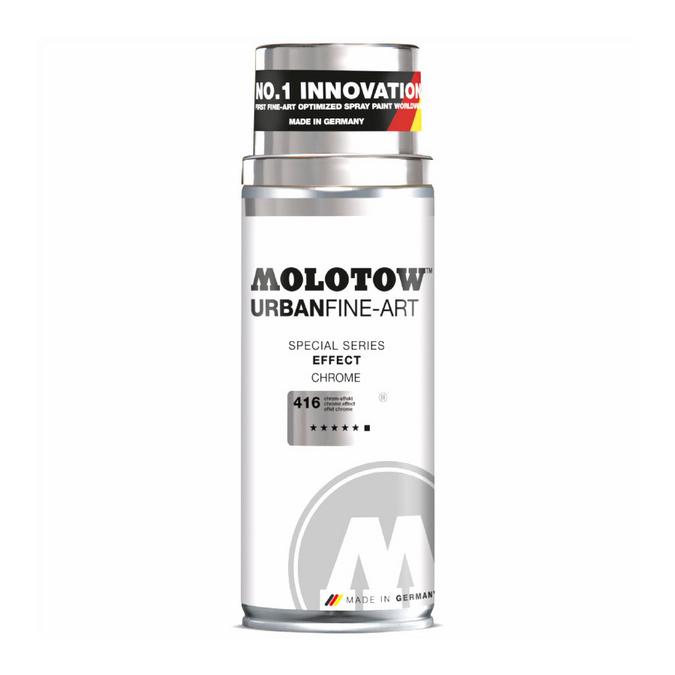 Bombe de peinture Urban Fine-Art Effect 400 ml Chrome