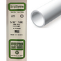 Tube rond en plastique 350 x 4 mm Ø Int 2,5 mm  - 4 pcs