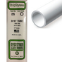 Tube rond en plastique 350 x 4,8 mm Ø Int 3,3 mm - 4 pcs