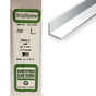 Baguette profile en L en plastique 350 x 2 x 2 mm - 4 pcs