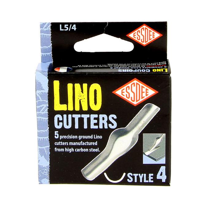 Gouge pour linogravure N4 - 5 pièces