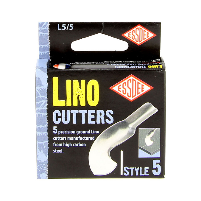 Gouge pour linogravure N5 - 5 pièces
