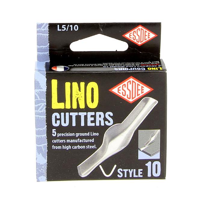 Gouge pour linogravure N10 - 5 pièces