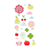 Stickers Puffies Adorable Fruits x 19 pcs