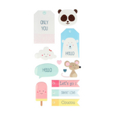 Stickers Puffies Adorable XL x 12 pcs