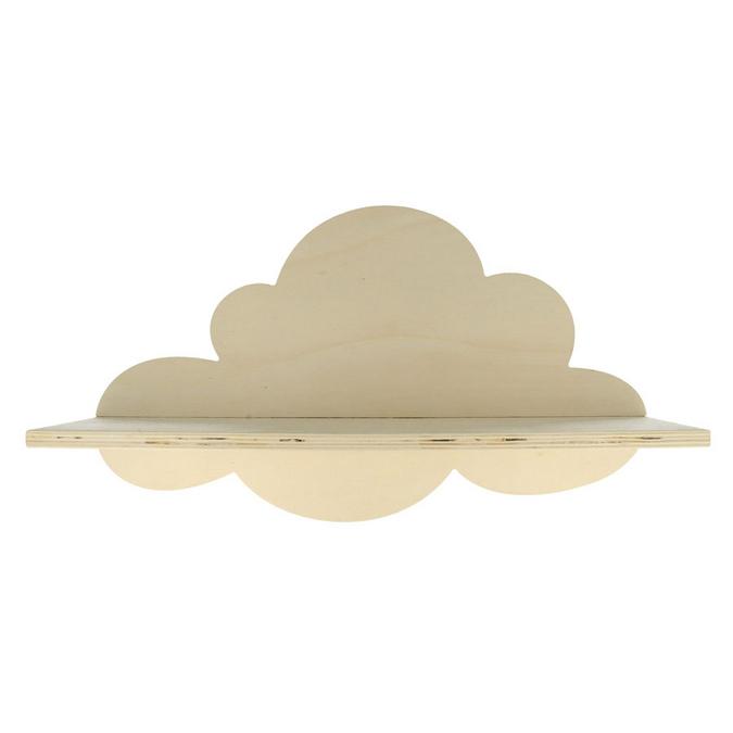Etagère nuage en bois Adorable 39 x 22 x 11 cm