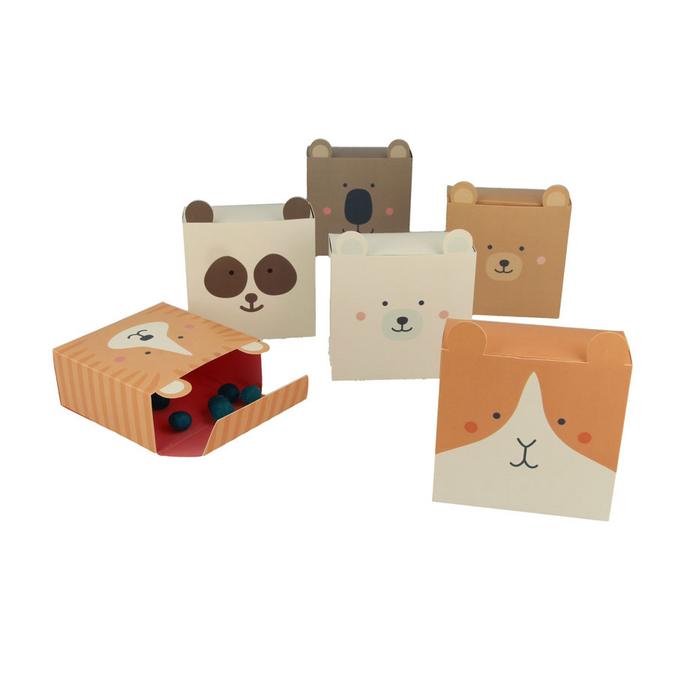 Boîtes à monter Animaux Adorable x 6 pcs