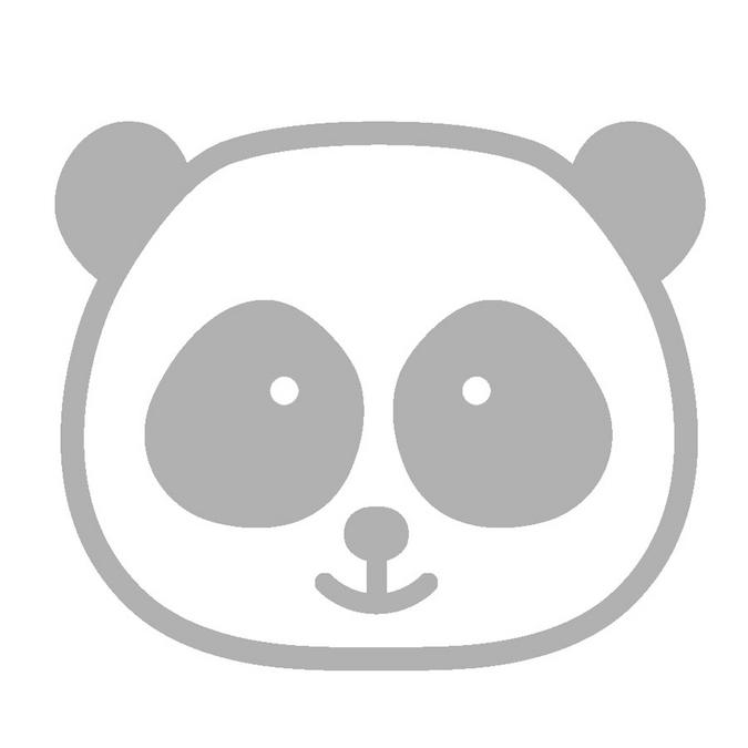 Dies set Adorable Panda x 2 pcs