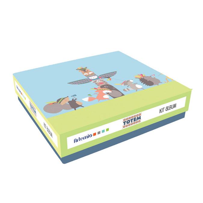 Album de scrapbooking kit Totem