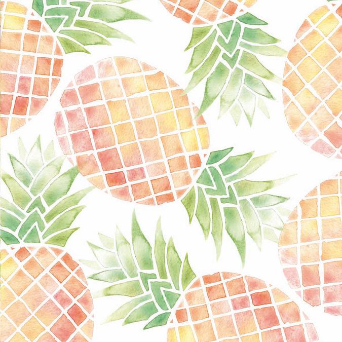 Papier Ananas 30 x 30 cm