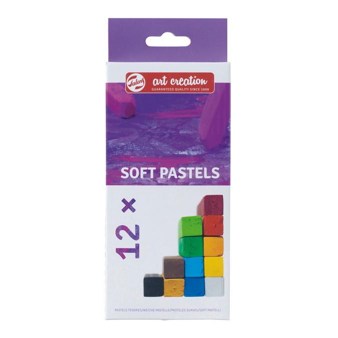 Pastel sec tendre Set 12 couleurs